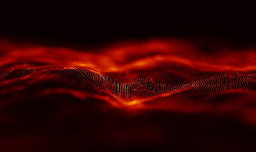digital background with particles