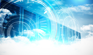 Digital interface and servers with clouds