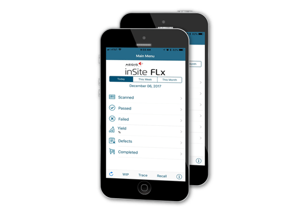 FactoryLogix on mobile phone