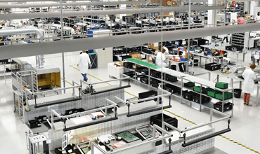 electronics manufacturing production floor