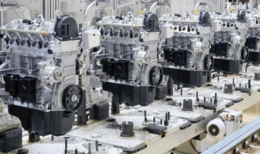 assembly production line