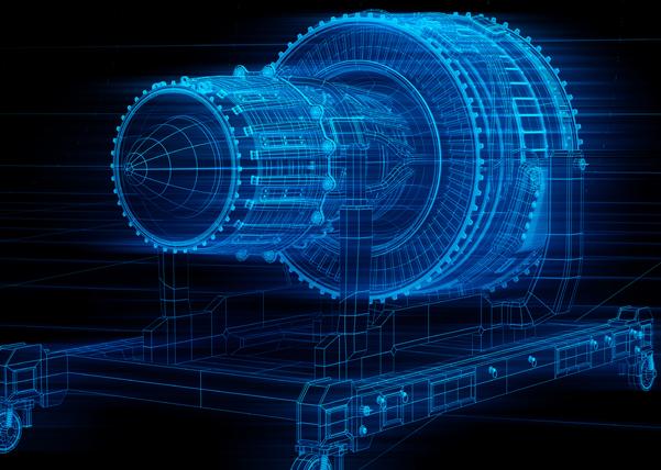 3D turbojet engine
